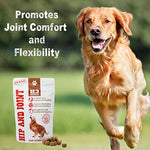 H3 Essentials Glucosamine For Dogs Hip And Joint Supplement For Dogs - Joint Supplement Glucosamine Chondroitin Hip Pain Health And Arthritis Relief - 6 Oz
