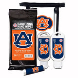 Worthy Promotional Ncaa Auburn Tigers 4-Piece Premium Gift Set With Spf 15 Lip Balm, Sanitizer, Wipes, Sunscreen
