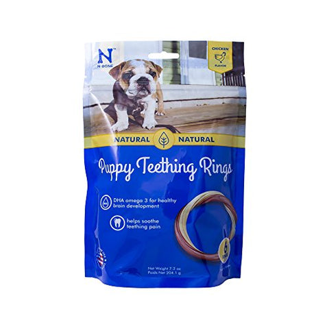N-Bone Puppy Teething Ring Chicken Flavor ( 6 Rings)