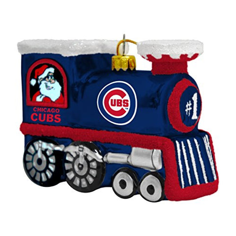Mlb Chicago Cubs Train Ornament