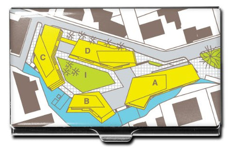 Acme Studios Site Plan Business Card Case By Hariri + Hariri (Chh01Bc)
