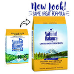 Natural Balance L.I.D. Limited Ingredient Diets Dry Dog Food, Grain Free, Potato &Amp; Duck Formula, 26-Pound