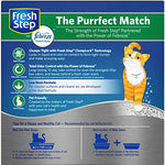 Fresh Step Odor Shield Scented Litter With The Power Of Febreze, Clumping Cat Litter, 20 Pounds