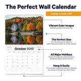 American Flag Calendar - 2019 Usa Wall Calendar - 11  X 17  Open - Beautiful Photos Of Flags Across The United States On Sturdy Paper - Breathtaking Images Of America