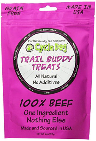 Cycle Dog Trail Buddy Dog Treat, 2 Oz, Beef
