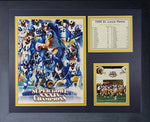 Legends Never Die  1999 St. Louis Rams Champions Framed Photo Collage, 11 X 14-Inch