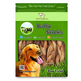 Gigabite 6 Inch Odor-Free Braided Bully Sticks   Usda &Amp; Fda Certified All Natural, Free Range Beef Pizzle Dog Treat  By Best Pet Supplies