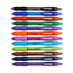 Paper Mate 1788863 Profile Retractable Ballpoint Pens, Bold (1.4Mm), Assorted Colors, 12 Count