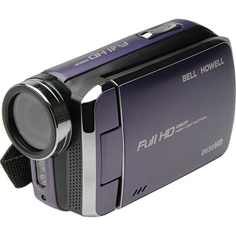 Bell+Howell Dv30Hd-P Hd Video Camera With 3  Touchscreen (Purple)