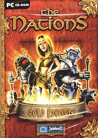 The Nations Gold Edition (Windows Cd) Build  Rule  Discover - Fight
