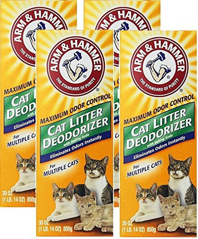 Arm &Amp; Hammer Cat Litter Deodorizer-Super Size Pack-30 Oz