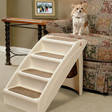 Solvit Petsafe Pupstep Plus Pet Stairs, Foldable Steps For Dogs And Cats, Best For Small To Medium Pets