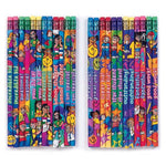 Geddes Incentive Pencils, Various Phrases For Kids, Set Of 144 (64244)