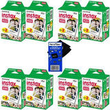 Herofiber Fujifilm Instax Mini Twin Pack Instant Film -(160 Sheets) For Fujifilm Instax Mini 7S, Mini 8, Mini 9, Mini 25, Mini 50S, Mini 90, Sp-1 &Amp; Sp-2 Smartphone Printers Cleaning Cloth