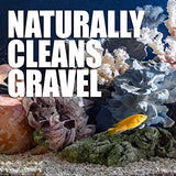 Professional Aquarium Gravel Cleaner - The Professionals Secret To Naturally Maintaining A Healthier Tank, Reducing Fish Waste And Toxins, 16 Ounces Treats 960 Gallons