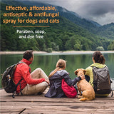 Veterinary Formula Clinical Care Antiseptic And Antifungal Spray For Dogs And Cats  Medicated Topical Spray Treatment For Fungal And Bacterial Skin Infections In Dogs And Cats, Fast Acting, Heal And Soothe Infections (8 Oz Bottle)