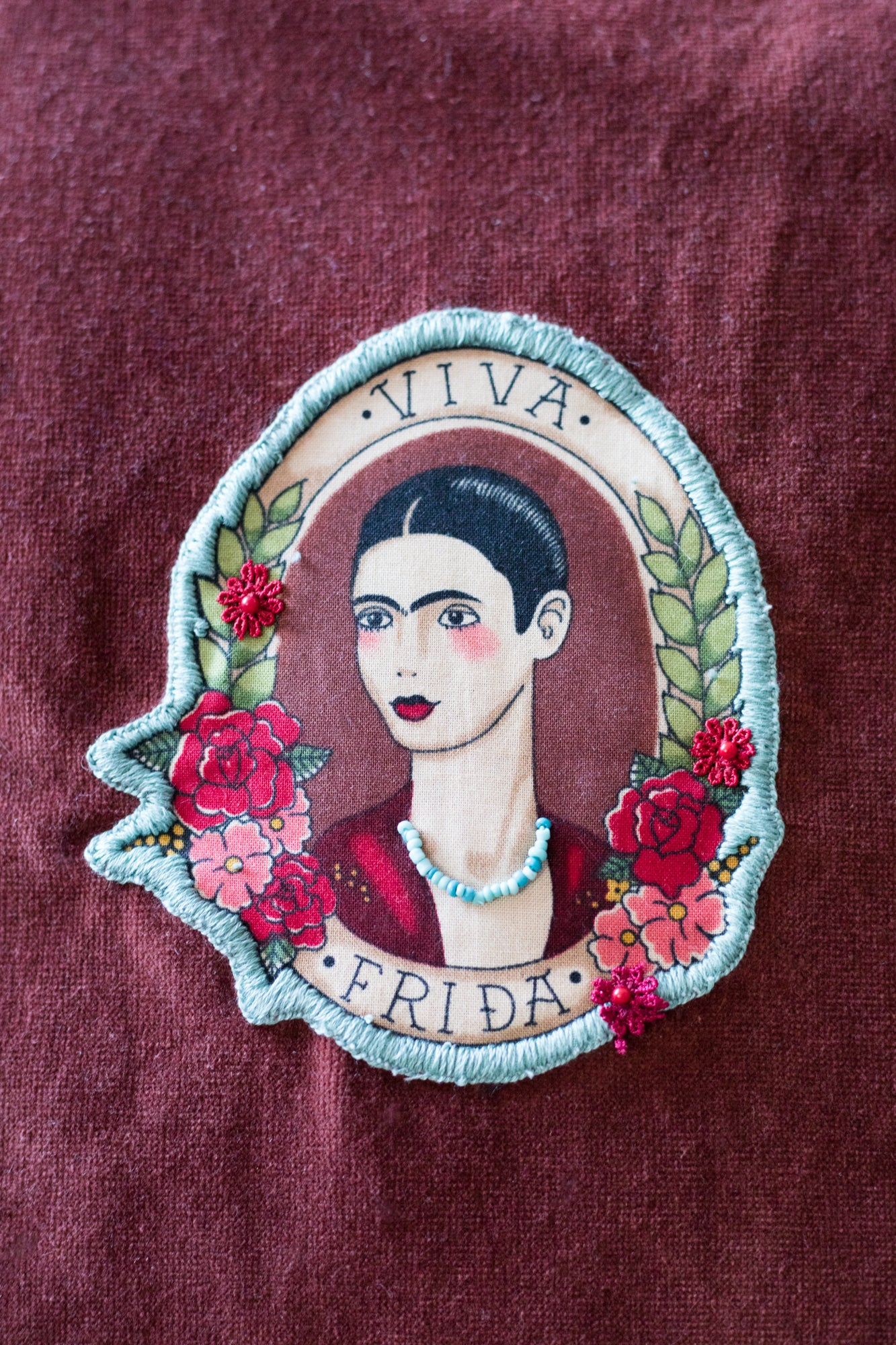 Viva Frida in burnt sienna