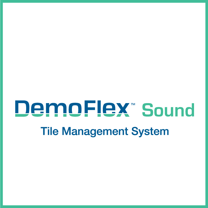 DemoFlex TMS: Sound Underlayment Kit