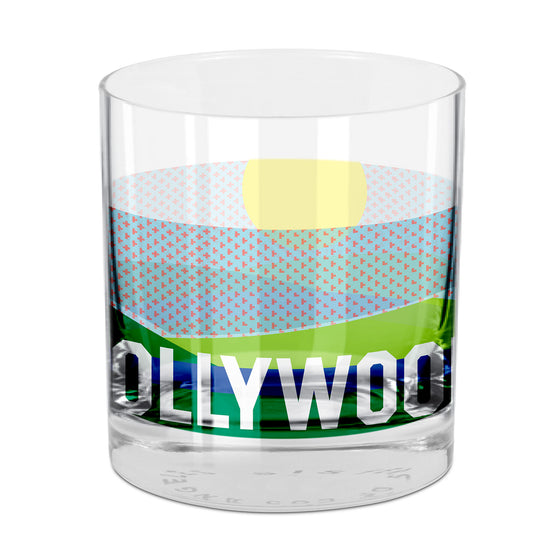 Hollywood Rocks Glass