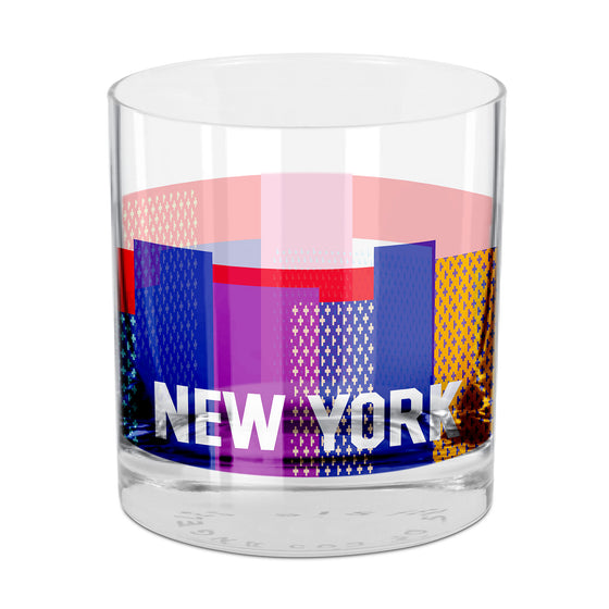 People, Places & Things New York-inspired rocks glass