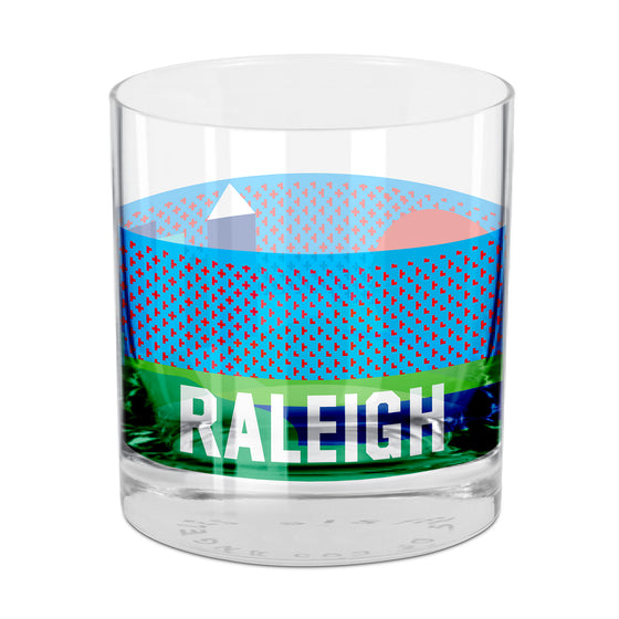 People, Places & Things Raleigh-inspired rocks glass