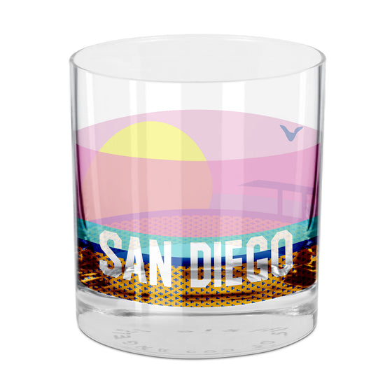 San Diego Rocks Glass