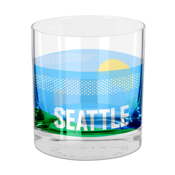 Seattle Rocks Glass