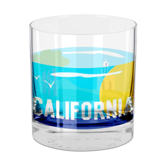 California Rocks Glass