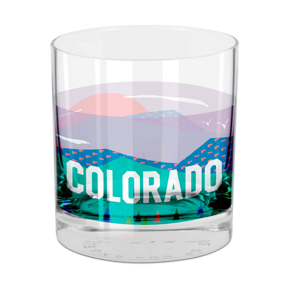 Colorado Rocks Glass