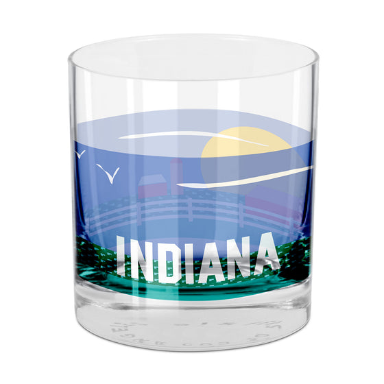 Indiana Rocks Glass