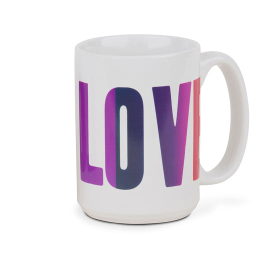 Love Printed Mug by People, Places & Things - Front