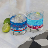 New Jersey Rocks Glass