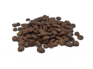 Independence coffee blend - close up of coffee beans
