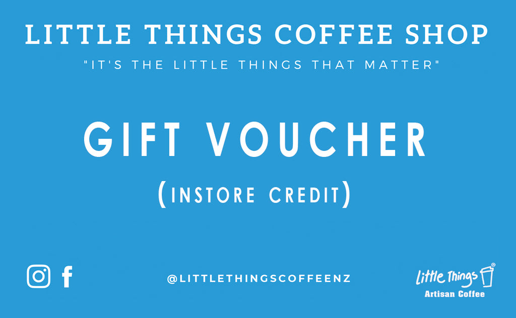 Gift voucher - Little Things Coffee Shop
