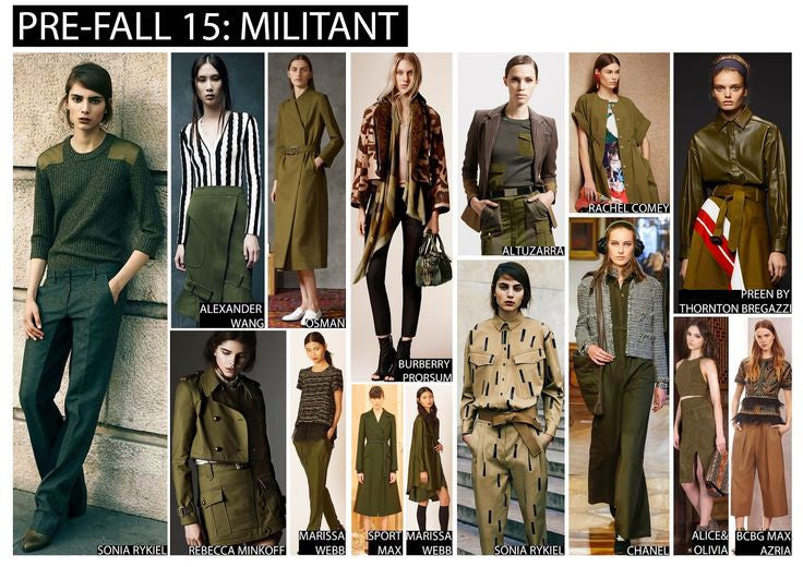 How To Wear The Military Trend
