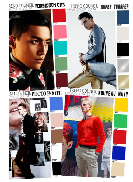 Spring 2014 Color Direction For Men