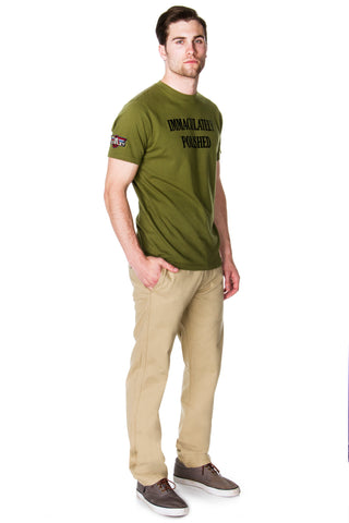65 MCMLXV Men's Chino Pant and Statement T-Shirt