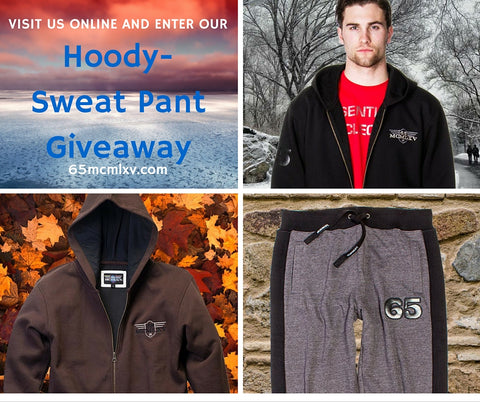 65 MCMLXV Hoody & Sweat Pant Giveaway