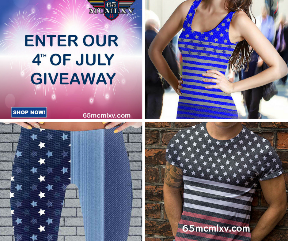 65 MCMLXV Fourth of July Giveaway
