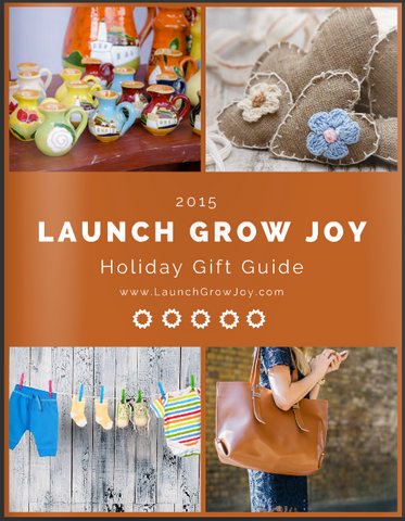 Launch Grow Joy 2015 Holiday Gift Guide