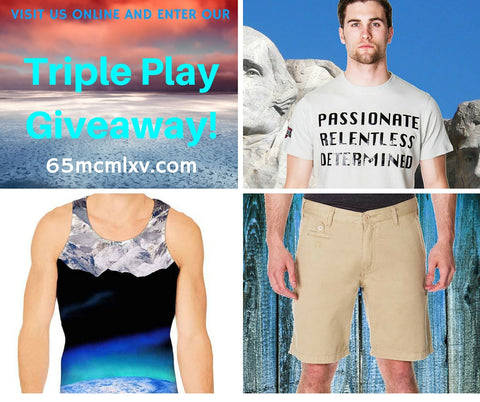 65 MCMLXV Triple Play Giveaway
