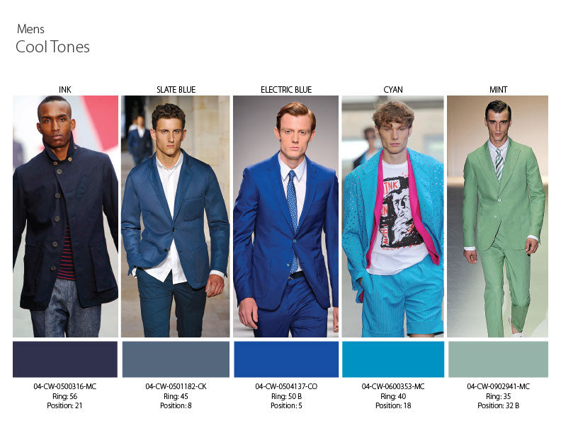 Color Solutions International SS14-Mens-Cool-Tones