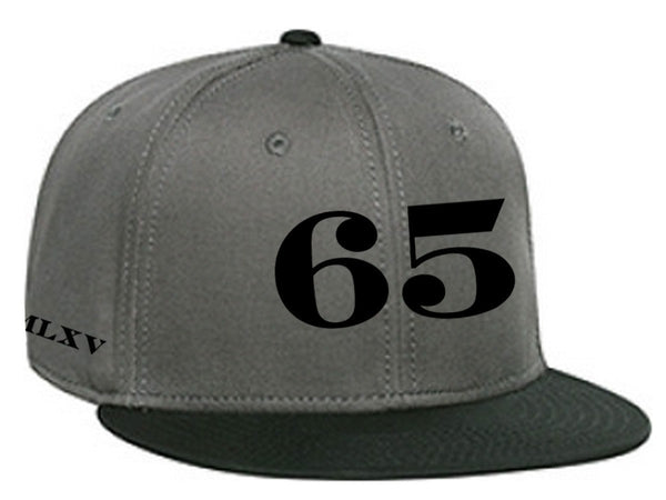 Cap - 65 MCMLXV Classic 65 Logo 6 Panel 3-D Puff Embroidered Cap