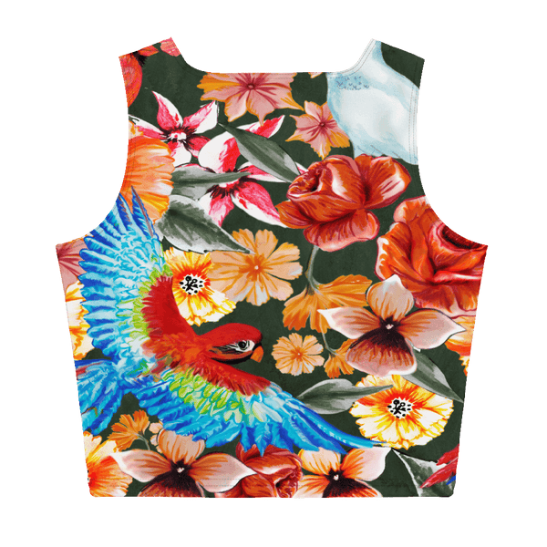 65 MCMLXV Women's Birds of Paradise Crop Top-Crop Top-65mcmlxv