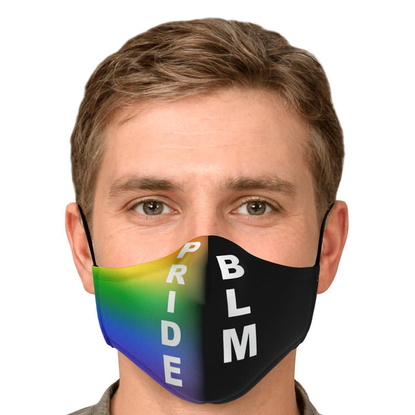 65 MCMLXV LGBT Pride-Black Lives Matter Unisex Face Mask-Fashion Face Mask - AOP-65mcmlxv