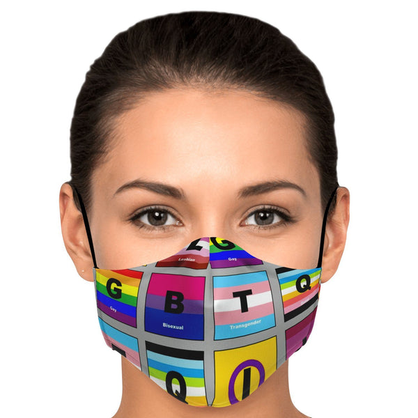 65 MCMLXV LGBTQI Pride Flags Unisex Face Mask-Fashion Face Mask - AOP-65mcmlxv