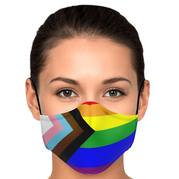 65 MCMLXV LGBTQIA+ Unisex Face Mask-Fashion Face Mask - AOP-65mcmlxv