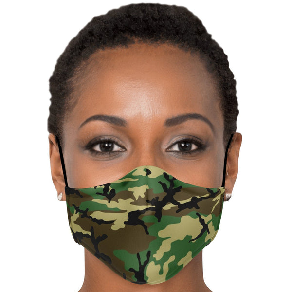 65 MCMLXV Unisex Military Camouflage Print Face Mask-Fashion Face Mask - AOP-65mcmlxv