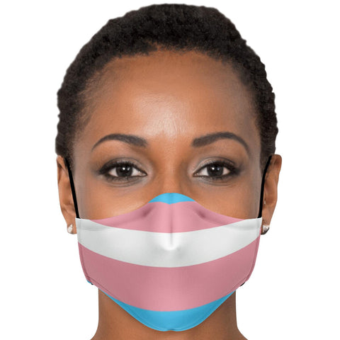 65 MCMLXV Transgender Pride Unisex Face Mask-Fashion Face Mask - AOP-65mcmlxv