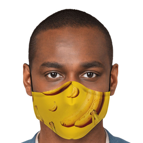 65 MCMLXV Unisex Banana Toss Print Face Mask-Fashion Face Mask - AOP-65mcmlxv